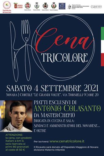 Si svolgerà il 4 settembre la 'Cena Tricolore' di beneficenza per la pediatria dell'Ospedale Maggiore