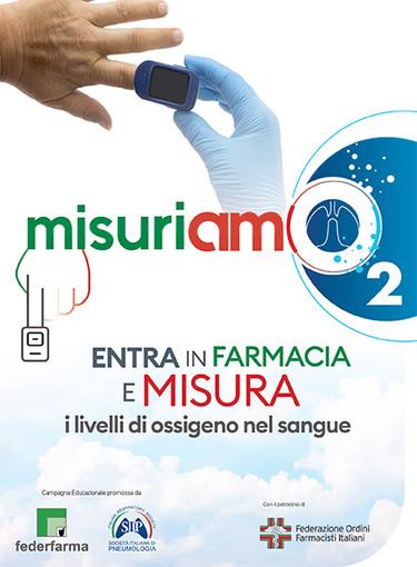 Con 'MisuriAMO' i pazienti asmatici o Bpco possono ritirare gratuitamente un ossimetro in farmacia