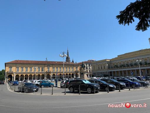 Novara e Piemonte in arancione