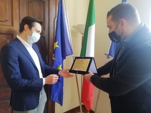 Antonio Colasanto nominato Ambasciatore della Novaresità per la sua promozione dei prodotti del territorio