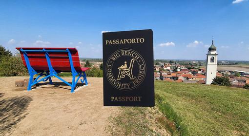 Disponibile a Barengo il passaporto delle Panchine Giganti
