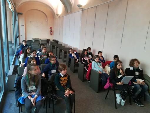 Si è riunito martedì  il nuovo Consiglio dei bambini e delle bambine di Novara