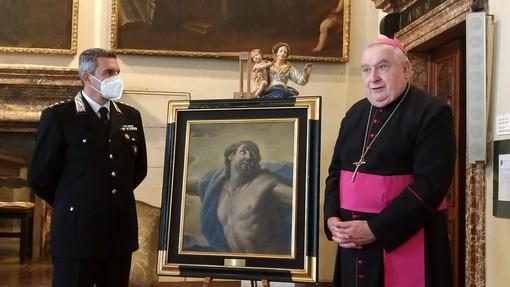 Dipinto del secondo barocco italiano recuperato dopo 31 anni dai carabinieri