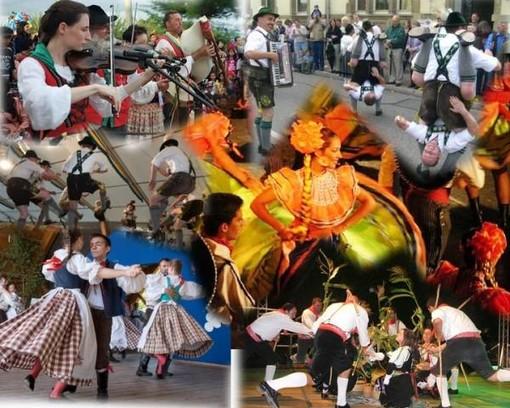Partito ufficialmente il 17° Raduno Folkloristico Internazionale di Galliate