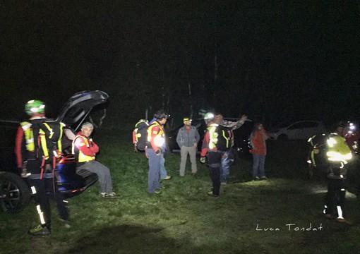 Salvi i 4 escursionisti in difficoltà al Cingino