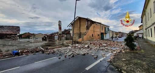 Devastazione nel vercellese, innumerevoli interventi in aiuto alla popolazione FOTO
