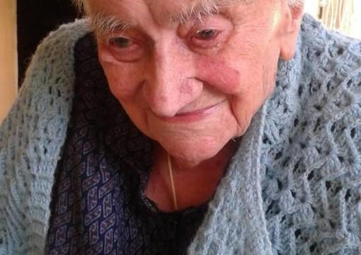 Si è spenta a 109 anni Vittorina Zoppis, l'ultracentenaria del Novarese