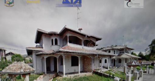 Sequestrate nel Vercellese tre ville e terreni a una famiglia Rom. Valore: un milione e mezzo di euro